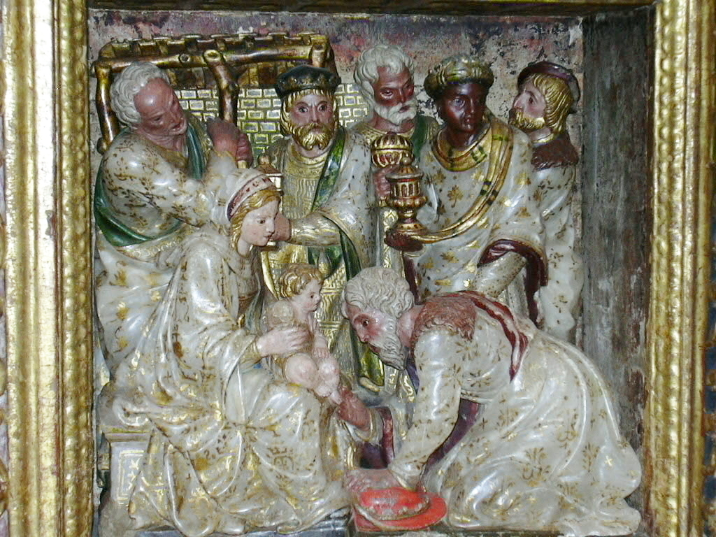 Colegiata de Bolea - Retablo de Santiago (año 1532)