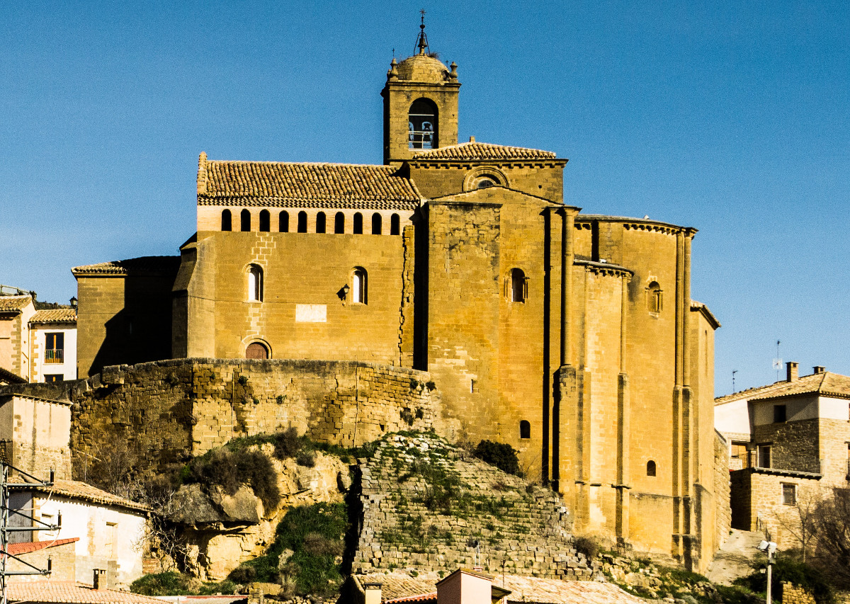 Iglesia de San Salvador en Murillo de Gállego