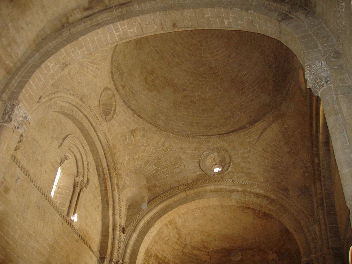 Bóveda del Castillo de Loarre